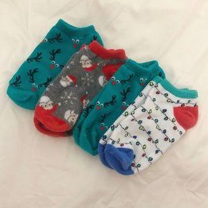 Aeropostale Christmas Socks
